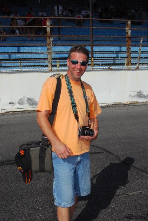 Bobby G. at Oswego Speedway