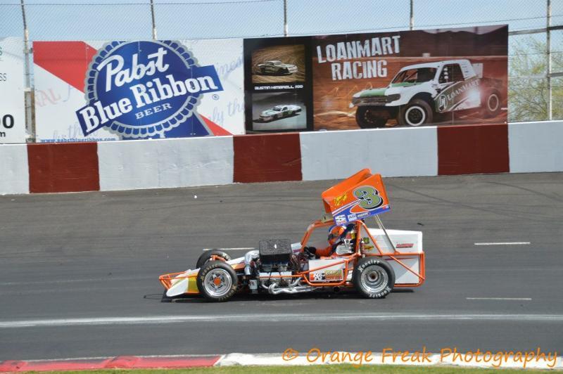 Kyle Vanderpool at Madera Speedway