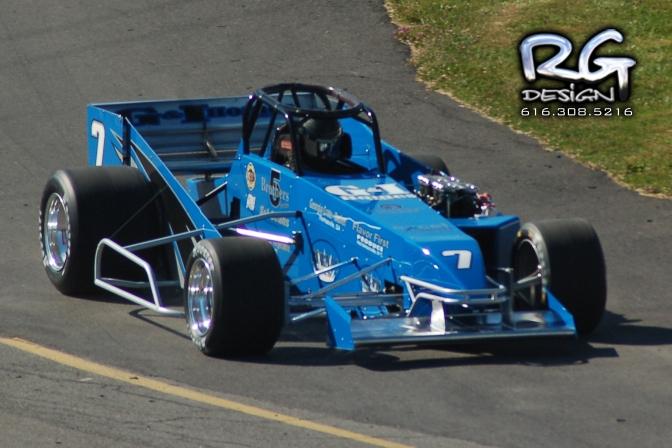 Otto Sitterly at Oswego Speedway
