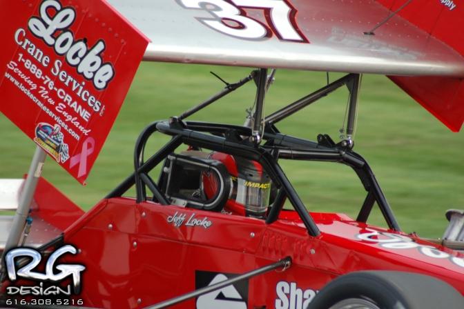 Jeff Locke at Lee Speedway