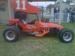 Ronald Ellsworth raced this supermodified around the legendary tracks of the south