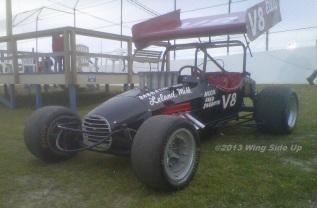 The Ellis Palasini driven V8