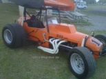 JD Parker racer that has been featured in the National Sprint Car Hall of Fame