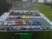 We know....there's stockcars in this shot. We couldn't resist showing off all of these beautiful handbuilt models though.