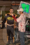 Kyle Edwards in Anderson Speedway Victory Lane