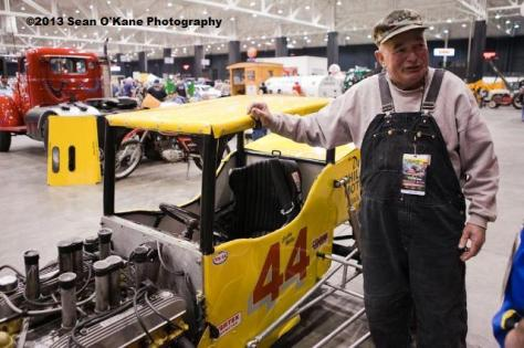 Buddy Miller poses with his supermodified