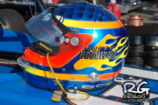 Davey Hamilton helmet