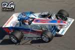 Joey Payne in Oswego Speedway supermodified