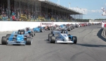 Oswego Speedway International Classic 200 start