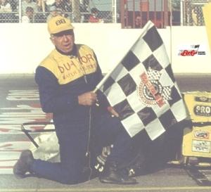 Willie Stutzman at Berlin Raceway