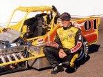 Doug Heveron at Oswego Speedway prior to start of 2005 International Classic 200
