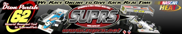 Supermodified Ultimate Pavement Racing Series banner