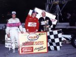 1994 Hy-Miler Supermodified Nationals podium