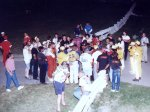 1994 ISMA Hy-Miler Supermodified Nationals drivers meeting