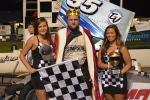 Dave Shullick Jr King of Wings winner at Oswego Speedway