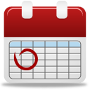 wing side up calender icon