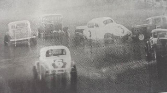 1958 oswego speedway international classic 200 crash