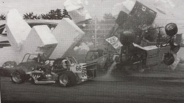 oswego speedway international classic 200 1999 fire
