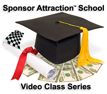 Marketing at Full Speed Sponsor Attraction School graphic