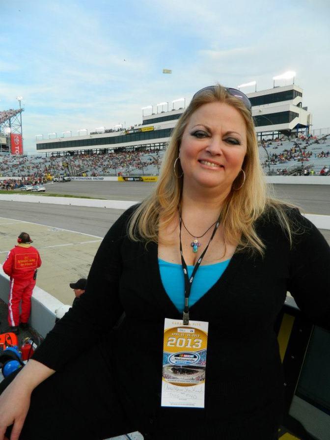 Annamarie Strawhand at Richmond International Raceway 2013