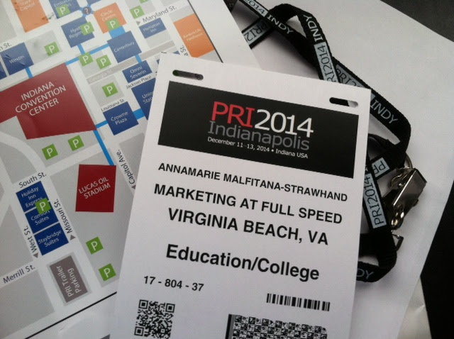 Marketing at Full Speed-Make Plans to Attend a Free PRI Show Seminar
