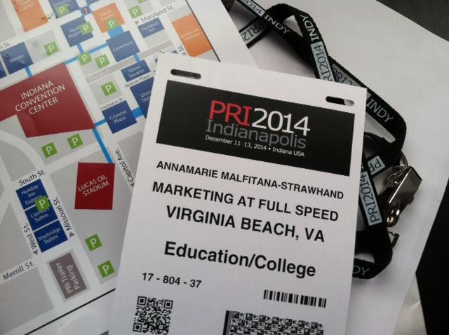 PRI Show 2014 credentials