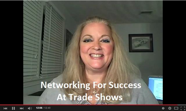 10 Tips for Successful Trade Show Networking graphic