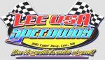 Lee USA Speedway logo
