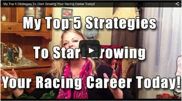 marketing at full speed top 5 strategies to growing your racing career graphic