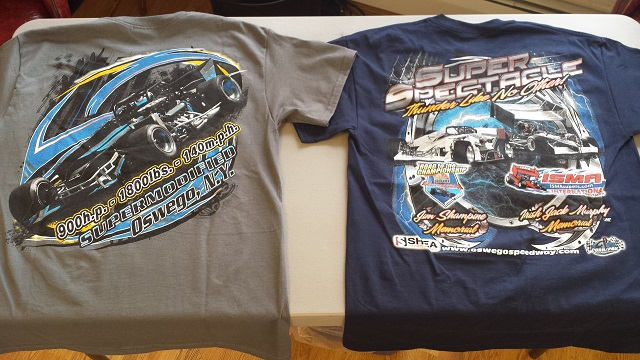 Oswego Speedway apparel by ASI Racewear new for 2015