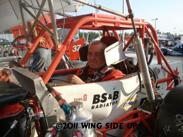 Canadian supermodified racer Mark Sammut