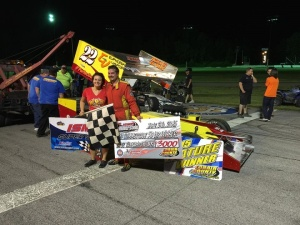 Mike McVetta ISMA Lorain County Speedway winner