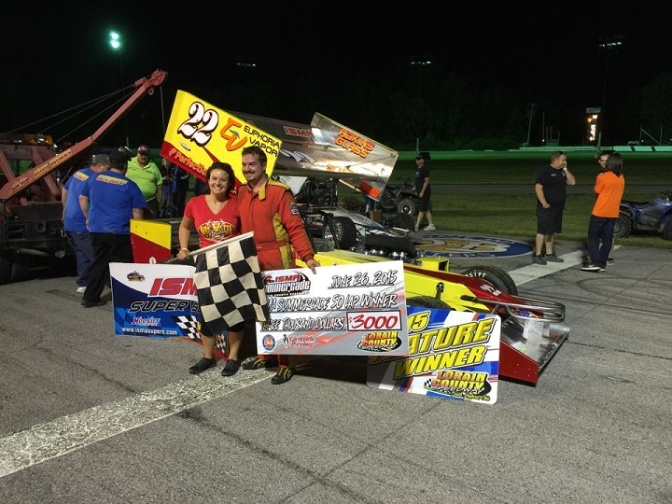 McVetta Sees Fire and Rain in Lorain County ISMA Win