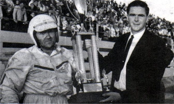 Johnny Benson Jr won the 1966 Oswego Speedway International Classic 200