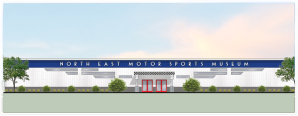 North East Motor Sports Museum artist's rendering