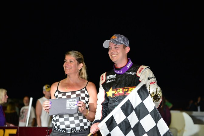 Abold Wins First Oswego Speedway Supermodified Feature