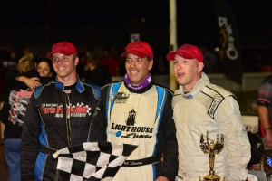 Lavery Leads All Laps, Wins at Oswego